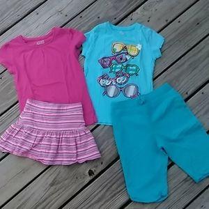 Children's Place 2 outfit bundle. Size 5/6
